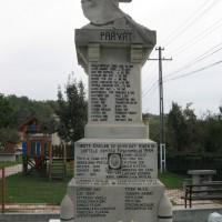 Berevoiești - Cruce dedicată eroilor căzuți în Primul Război Mondial (1916-1918) și în Al Doilea Război Mondial (1944)