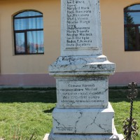 Hârșești - Monumentul Eroilor căzuți în primul război mondial