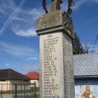 Vlădești - Cruce dedicată eroilor căzuți în Primul Război Mondial (1916-1918) și în Al Doilea Război Mondial (1941-1944)