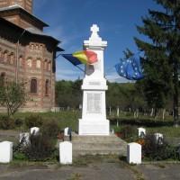 Gălășești - Monument în cinstea eroilor căzuți în Războaiele Balcanice (1877-1913), Primul Război Mondial (1916-1918) și Al Doilea Război Mondial (1941-1945)