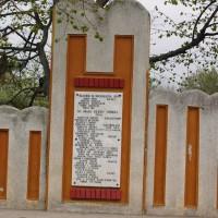 Mozăceni - Monument dedicat eroilor căzuți în primul război mondial